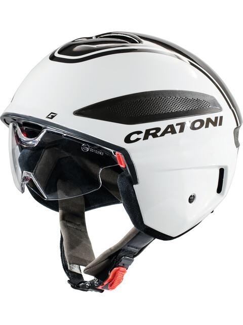 Cratoni Vigor S-Pedalec Helm weiß/anthrazit glanz